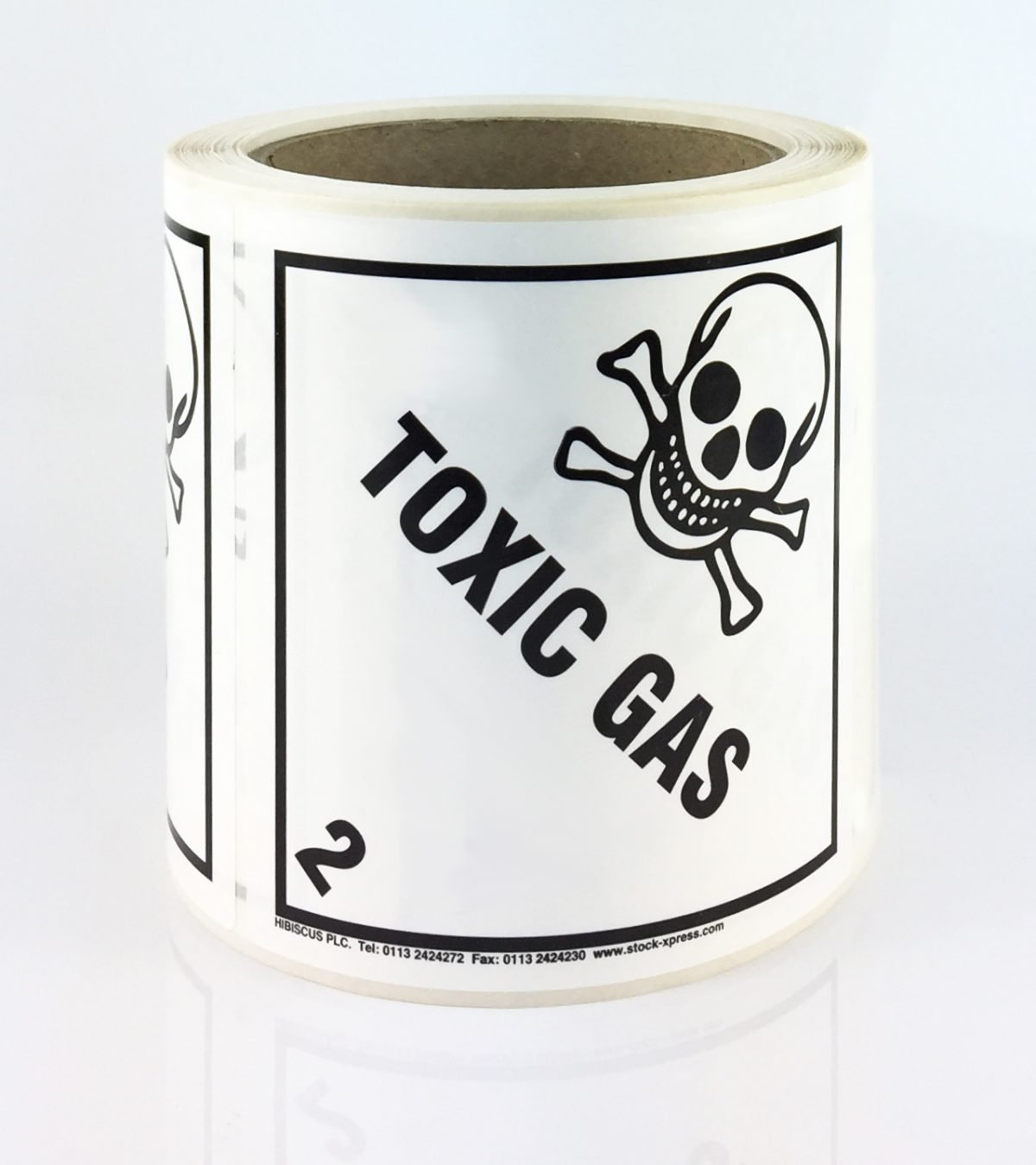 toxic gas label, class 2.3 label