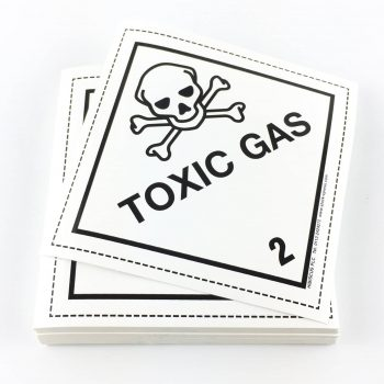 toxic gas labels class 2.3 labels