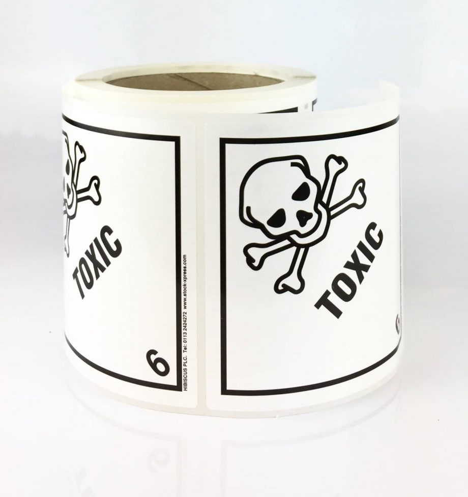 class 6 label, toxic label
