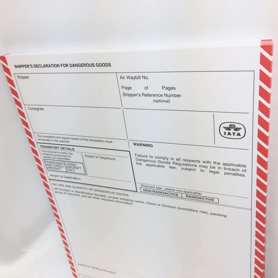 iata shipping notes