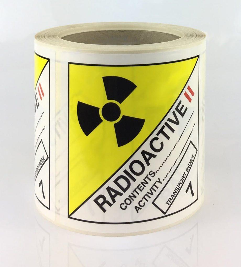 radioactive labels