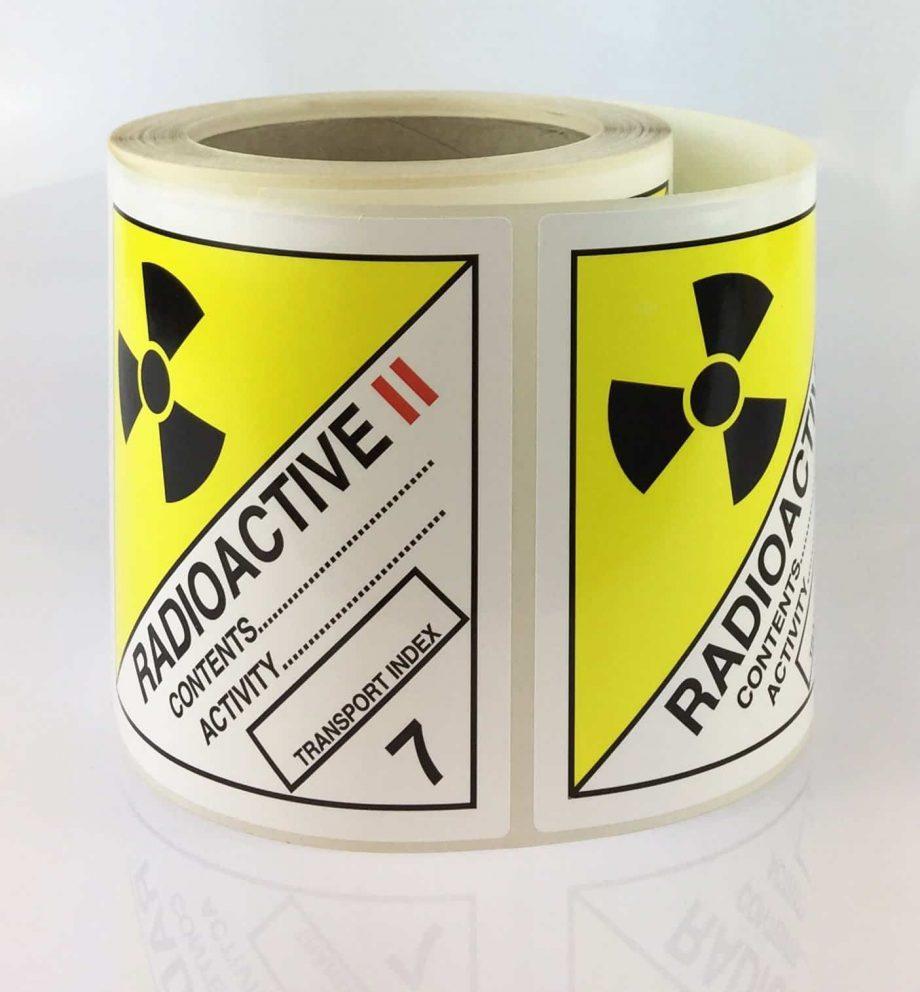 radioactive 2 labels