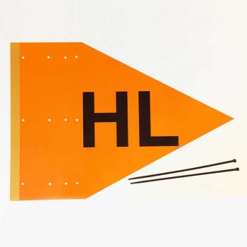 HL pennant, heavy lift pennant reusable