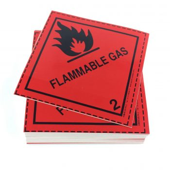 Class 2.1 Label Flammable Gas label