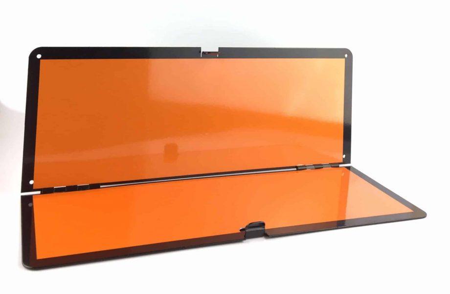 horizontal folding adr panel