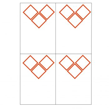 3 GHS pictogram 4 to view laser sheet label
