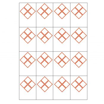 4 ghs pictogram 16 to view laser sheet labels