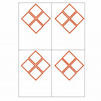4 ghs pictogram 4 to view laser sheet labels