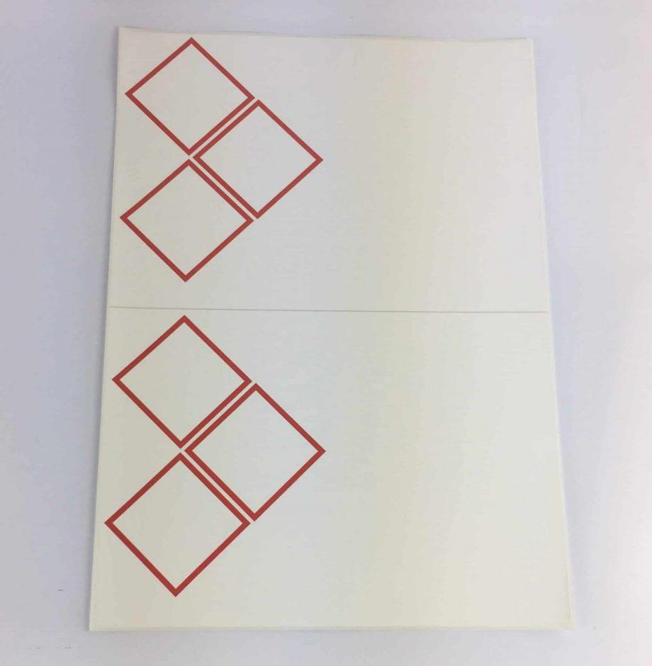 GHS laser sheet labels