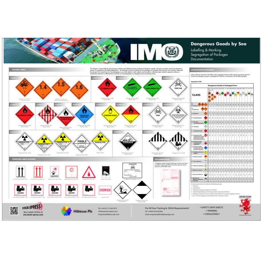 IMDG poster