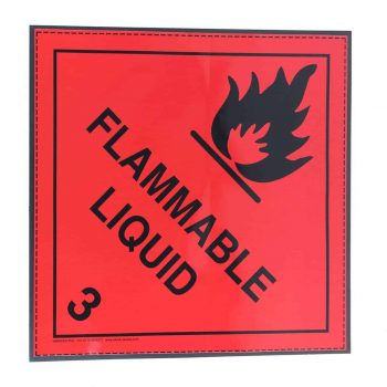 class 3 label on magnetic rubber