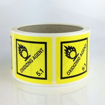 oxidizing agent labels 5.1 labels