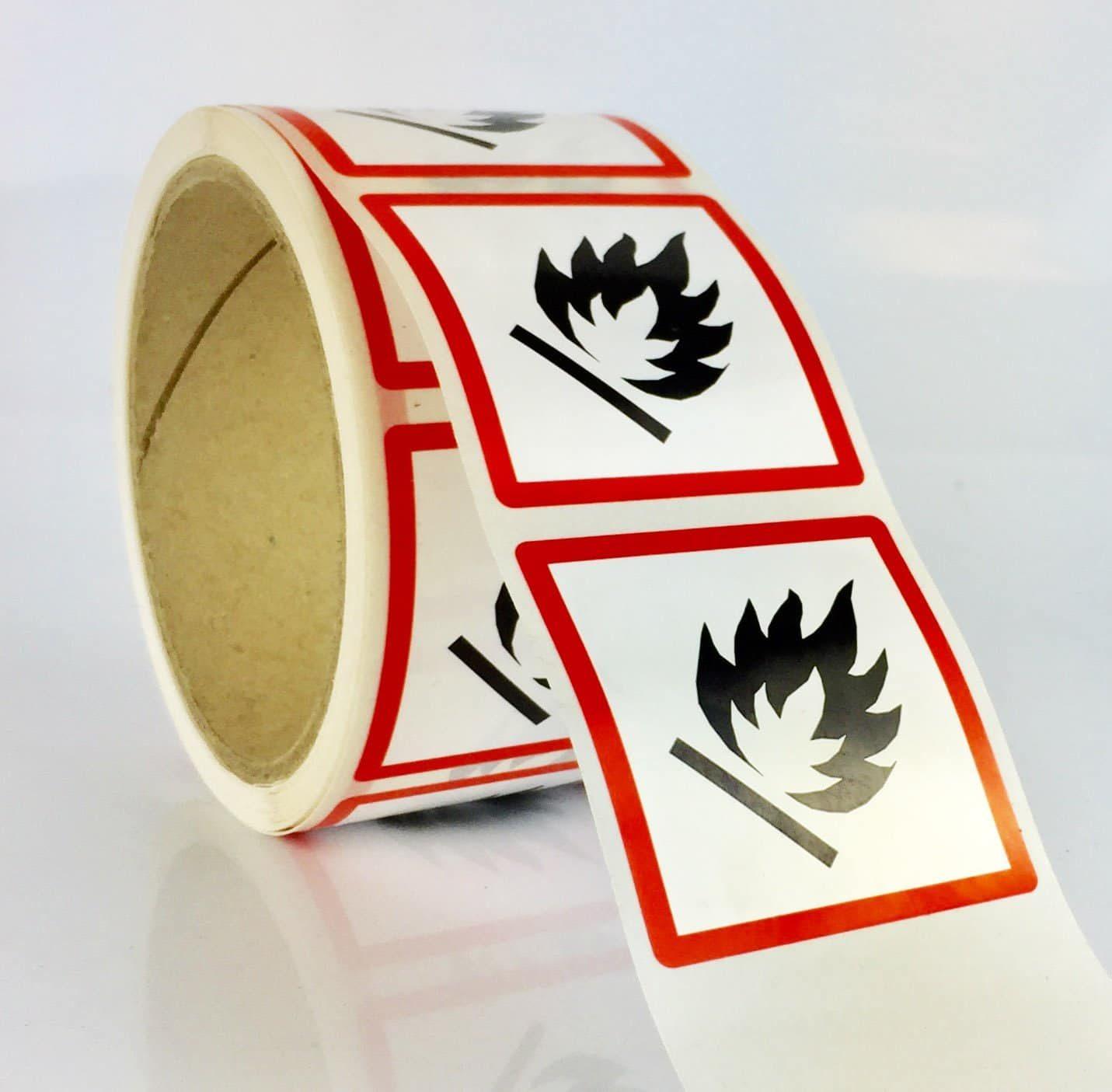 ghs02 labels flammable ghs labels