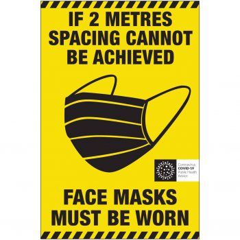 Covid-19 Face Mask Label