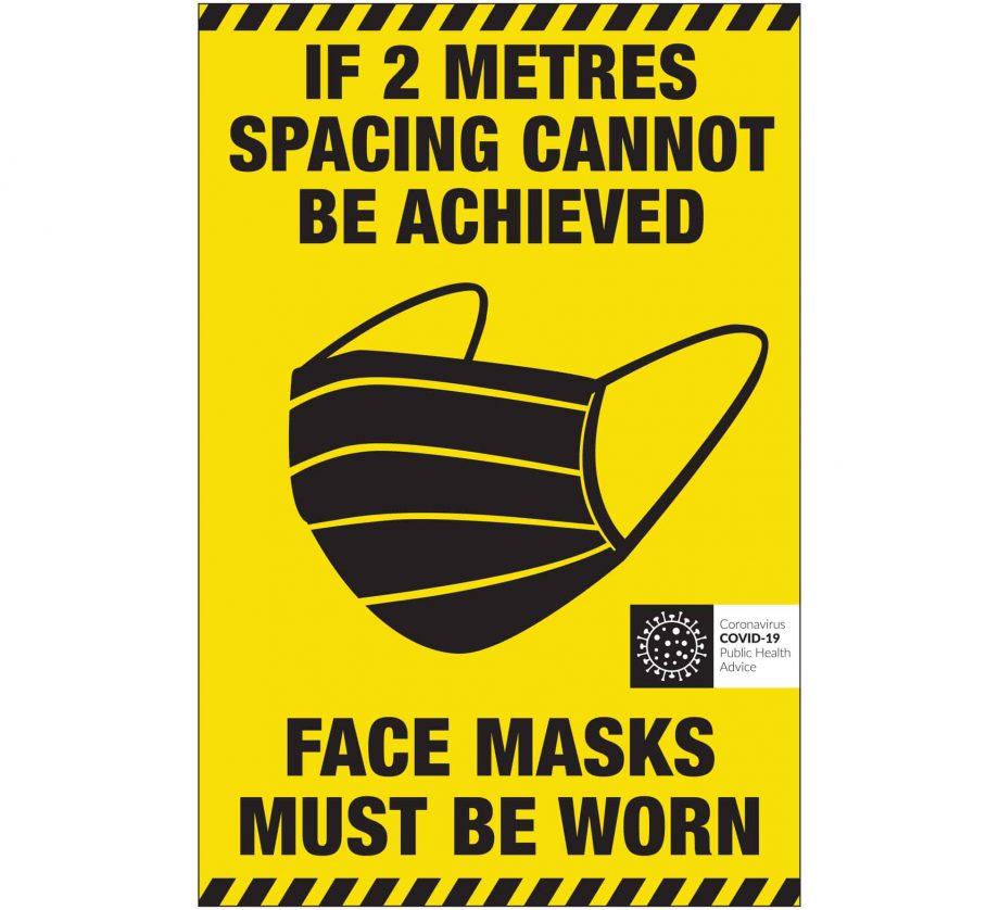 Covid-19 Face Mask Label